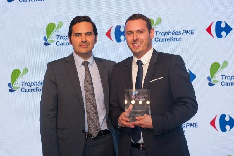 """Carrefour reward innovative SMEs"""