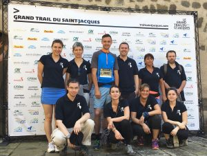 Grand Trail Saint Jacques 2016 Haute-Loire Sabarot