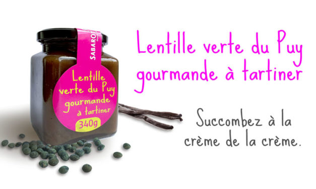 Sweet Le Puy green lentil : spread and taste !