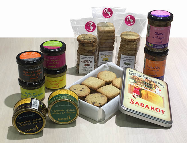 The Sabarot Epicerie fine range grows !