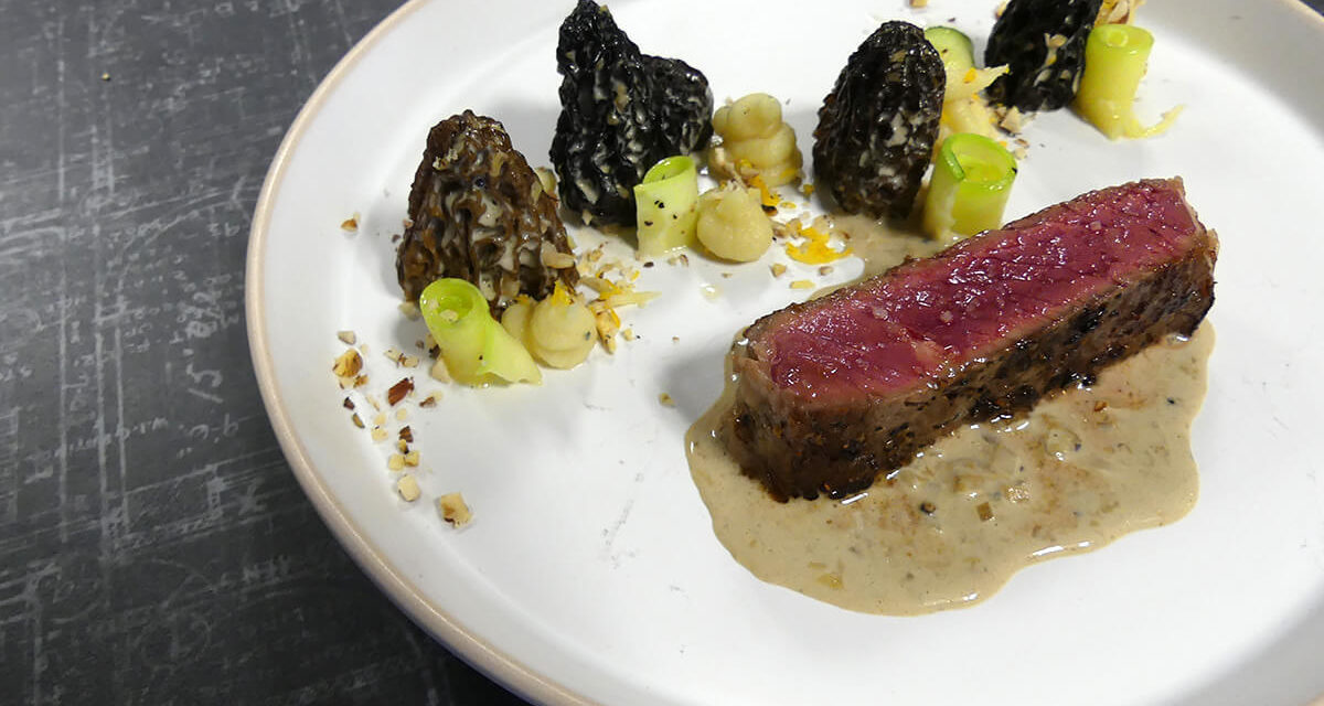 Beef with Morels